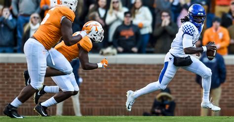 Tennessee vs. Kentucky: TV Channel, Kickoff Time ...