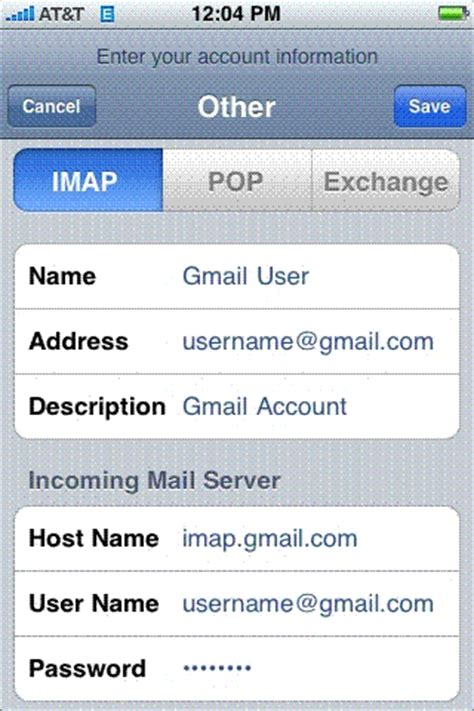 how to set up gmail on iphone how to setup gmail imap for iphone iclarified
