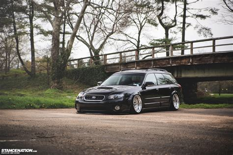 subaru legacy stance getting it jay 39 s bagged subaru legacy outback