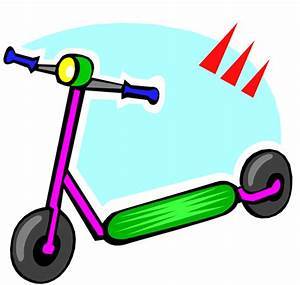 Scooters clipart - Clipground