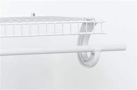 Closetmaid Rod Support - closetmaid 5629 hanging rod support white lifeandhome