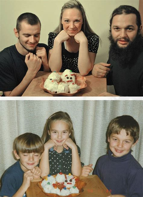 Geschenkidee Für Eltern by Kinder Stellen Kindheitsfotos Nach Weihnachtsgeschenk
