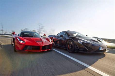 Battle! Ferrari Laferrari Vs Lamborghini Centenario Vs