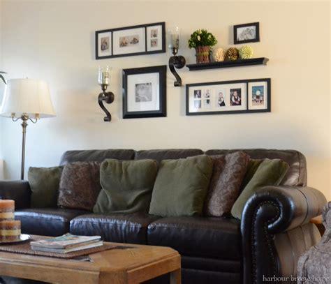 wall art above sofa wall decor decor ideas living room gallery walls