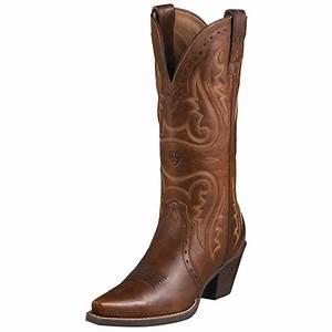 "Women's Ariat® 12"" Heritage Western X-toe Cowboy Boots ..."