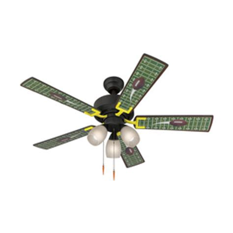 harbor breeze 48 in football matte black ceiling fan with