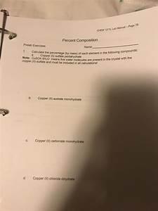 Solved  Chem 1211l Lab Manual