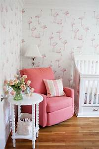 the magical nurseries that almost broke the internet in With kitchen cabinets lowes with pink flamingo wall art