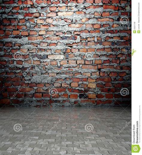 wall  brick texture empty interior royalty