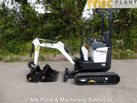 bobcat  mini excavator mk plant