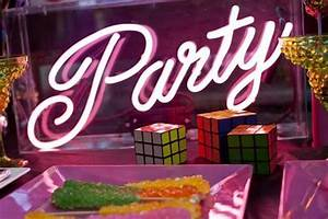 Little Big pany s 80s Themed Party Styling Paperblog