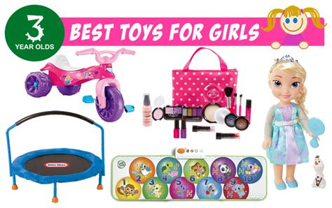 Best Gifts & Toys For 3 Year Old Girls 2016