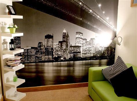 New York Bedroom Wallpaper Ebay by New York Theam Room Decor Shelf Unit New York Wall