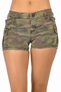 Camo Pants Size Chart Tripp Nyc Cargo Shorts Camo Print Trashandvaudeville Com