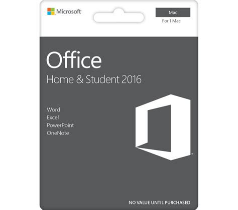 Office Home Student 2016 For Pc by Microsoft Office Home Student 2016 For Mac Deals Pc World