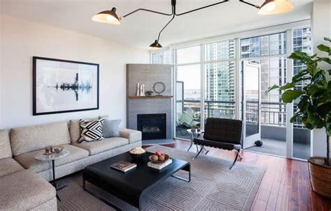 40451 modern living room with corner fireplace inspiring interior designs focused on corner fireplaces