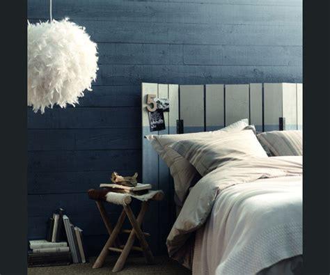 couleur chambre de nuit peinture bleu nuit chambre