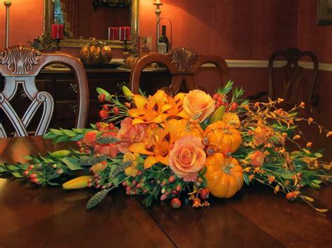 Festive Thanksgiving Table Centerpieces Harold  Lyon