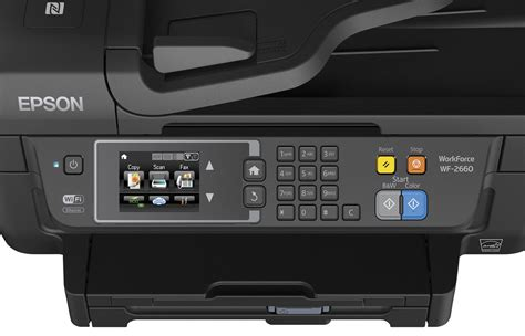 You actually can't install the ink cartridges until you power on the printer for the first time, and you need to insert the four tanks (cyan, magenta, yellow and black) in the correct order for the printer to work. Epson Expands WorkForce Printing Solutions for Home and ...