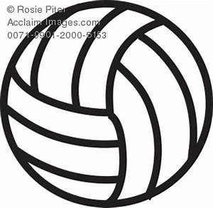 Volleyball Clipart Black And White   Clipart Panda - Free ...