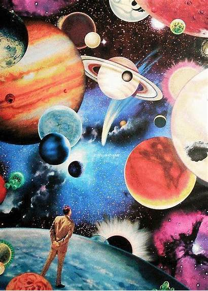 Trippy Space Cool Trip Lsd Drugs Colorful