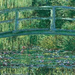 le fil de l39art le pont japonais de claude monet With pont pour bassin de jardin 15 un peintre et son jardin monet et giverny paysages
