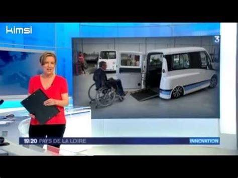 batterie pour fauteuil roulant electrique kimsi le monospace 233 lectrique pour la conduite en fauteuil roulant reportage france3