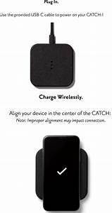 Assembly Catch1 Courant Wireless Charger User Manual Manual