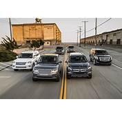 Motor Trend Comparison Lexus LX 570 Vs Cadillac Escalade