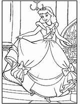 Cinderella Coloring Princess Disney Cendrillon Coloriage Princesse Printable Cinderela Ausmalbilder Colorear Cenicienta Desenhos Dibujos Boyama Kleurplaten Colorir Dessin Assepoester Imprimir sketch template