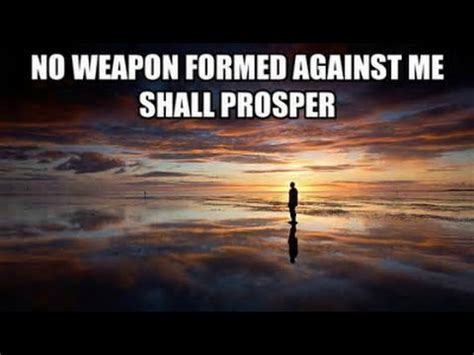 no weapon formed against us will prosper the battle belongs to the lord youtube