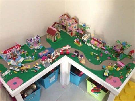 genius ikea lego table hacks  kids   crazy