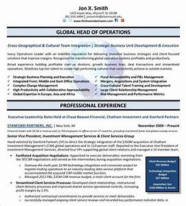 10 executive resume templates pdf doc free premium With it executive resume template