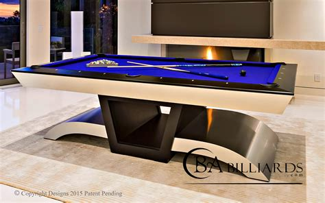 POOL TABLES  MODERN POOL TABLES  CUSTOM POOL TABLES