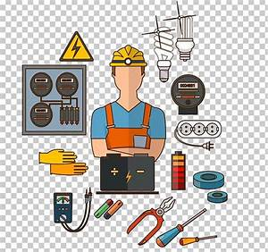 Electrician Clipart Electrical Engineering  Electrician