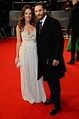 Tom Hardy and Kelly Marcel at the 2014 BAFTA Awards.   A ...