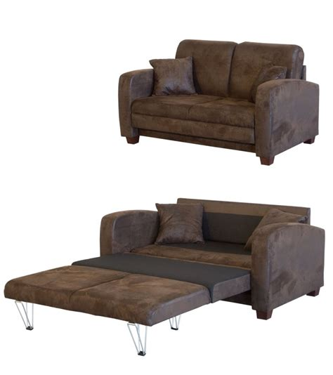 but canap convertible 2 places finlandek canapé convertible 2 places miska tissu marron