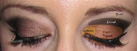 Diagram For Eye Makeup by Copper Eye Makeup Eyemasq