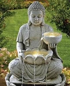 Statue Bouddha Interieur : jardin zen bouddha recherche google bouddha pinterest zen et recherche ~ Teatrodelosmanantiales.com Idées de Décoration