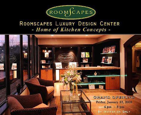 Roomscapes Luxury Design Center Grand Opening Boston