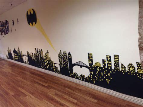 gotham city poster boards  construction paper batman