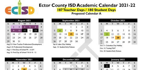 Ecisd Calendar 2022.E C T O R C O U N T Y S C H O O L D I S T R I C T C A L E N D A R Zonealarm Results
