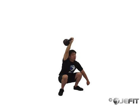 kettlebell jerk clean arm jefit enlarge exercise exercises