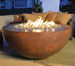 Natural Gas Outdoor Fire Pit Table