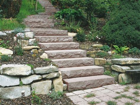 Gartentreppe Aus Stein Selber Bauen