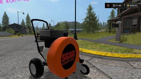 Scag Walk Behind Leaf Blower Ls 17 Farming Simulator