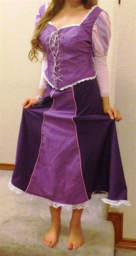 rapunzel costume  princess party sewing projects