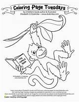 Coloring Baboon Monkey Howler Divyajanani sketch template