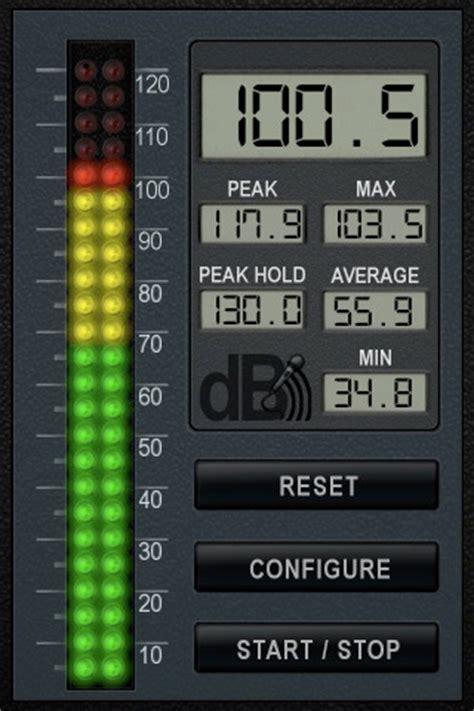 phone apps  measure noise levels