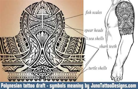 polynesian designs and meanings polynesian tattoos meaning symbols